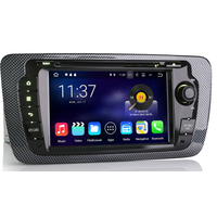 Autoradio Android 7.1 Wifi GPS Waze Seat Ibiza depuis 06/2008
