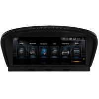 Autoradio écran tactile GPS Android BMW Série 5 E60 E61 E63 E64 de 2003 à 2010 et Série 3 E90 avec gps d'origine