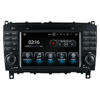 Autoradio GPS Android avec écran tactile Mercedes Benz CLK et CLS