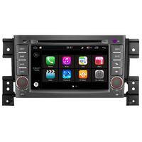 "Autoradio GPS Wifi Bluetooth Android Suzuki Grand Vitara de 2005 à 2013 - écran 7"""