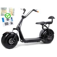 Citycoco : Scooter électrique grosse roue - 1000W 45km/h - Homologué Route en France