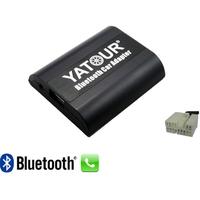 Kit Mains libres Bluetooth téléphonie & streaming audio pour Suzuki Aerio, Swift, Grand Vitara, Jimny II, Splash, Wagon R, SX4, XL-7, Ignis, Liana