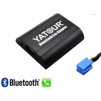 Kit Mains libres Bluetooth téléphonie & streaming audio pour Skoda Octavia, Fabia, Superb (8 pin)
