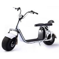 Azur Scooter à batterie amovible Blanc homologué pour la France : Scooter Trottinette électrique Blanc