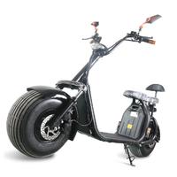 Azur Scooter à batterie amovible : Scooter électrique Noir avec certificat d'immatriculation français inclu