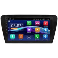 Autoradio Android 6.0 GPS Skoda Octavia depuis 2013 - Grand écran tactile 10,1 pouces
