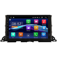Autoradio Android 6.0 GPS Toyota Highlander depuis 2014 - Grand écran tactile 10,1 pouces