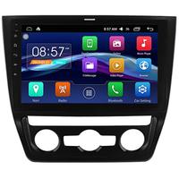 Autoradio Android 6.0 grand écran tactile 10 pouces Skoda Yeti avec climatisation automatique