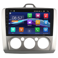 "Autoradio Android 6.0 GPS Wifi Bluetooth écran tactile 9"" Ford Focus de 2004 à 2010"
