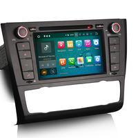 Autoradio Android 8.0 GPS BMW Série 1 E81 E82 E87 E88 de 2006 à 2012 - Climatisation automatique/manuelle