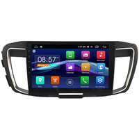 Autoradio Android Auto GPS Wifi écran tactile 10 pouces Honda Accord 9th depuis 2013