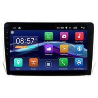 Autoradio Android 6.0 GPS Waze Wifi écran tactile 10,1 pouces Peugeot 208 et 2008