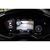 Caméra de recul Audi TT depuis 2016 avec câblage pour autoradio d'origine MMI navigation or MMI navigation plus