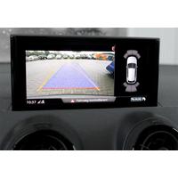 Caméra de recul Audi Q2 avec câblage pour autoradio d'origine MMI radio standard ou MMI radio high
