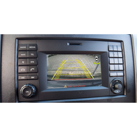 Boitier vidéo avec entrée RCA caméra de recul pour Mercedes Sprinter W906 avec Audio 15