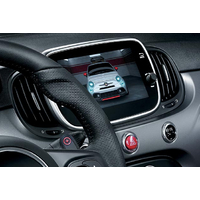 Interface Multimédia et caméra de recul compatible Fiat 500 Abarth 595