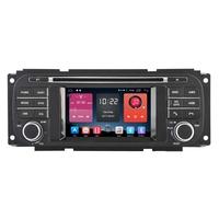 Autoradio GPS Android 6.0 Wifi Chrysler 300M, Voyager, Sebring, PT Cruiser & Grand Voyager depuis 2000
