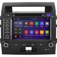 Autoradio Android 7.1 écran tactile GPS DVD Toyota Land Cruiser 200 de 2007 à 2013