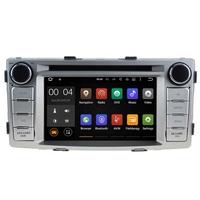 Autoradio Android 7.1 écran tactile GPS DVD Toyota Hilux de 2012 à 2016