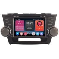 Autoradio Android 6.0 GPS Wifi Bluetooth Toyota Highlander 2008 à 2013