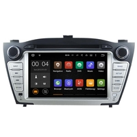 "Autoradio GPS Wifi Bluetooth Android 7.1 Hyundai IX35 de 2010 à 2013 - écran 7"""