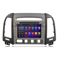 Autoradio Android 8.1 écran tactile GPS DVD Hyundai Santa Fe de 2006 à 2012