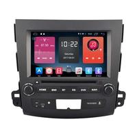 Autoradio GPS Wifi Bluetooth Android 6.0 Citroën C-Crosser Peugeot 4007 et Mitsubishi Outlander