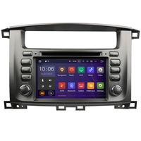 Autoradio Android 7.1 GPS écran tactile Wifi Toyota Land Cruiser 100