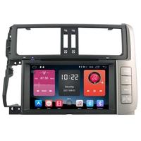 Autoradio Android 6.0 GPS avec Wifi Bluetooth Toyota Land Cruiser Prado 150