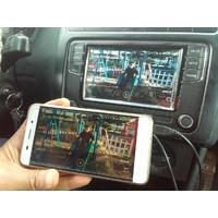 AdaptivLITE, Boitier Mirroring Apple et Android, entrée USB/SD/Aux pour Volkswagen Crafter, Golf 7, Passat, Polo, Tiguan et Touran