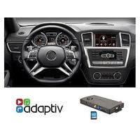 Adaptiv, Boitier GPS Navigation et multimédia USB/SD pour Mercedes GLE et ML depuis 2011 avec NTG 4.5