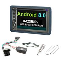 Pack Autoradio Android 8.0 Wifi GPS Waze Alfa Romeo 159, Brera & Spider