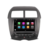 Autoradio GPS Wifi Bluetooth Android 8.0 Mitsubishi ASX depuis 2010, Citroën C4 Aircross & Peugeot 4008