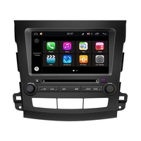 Autoradio GPS Wifi Bluetooth Android 8.0 Citroën C-Crosser Peugeot 4007 et Mitsubishi Outlander