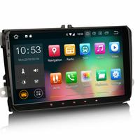 "Poste Android 9.0 écran tactile 9"" Volkswagen Golf 5, Golf 6, Beetle, Eos, Touran, T5, Tiguan, Polo, Caddy, Passat, Jetta, Amarok, Sharan"