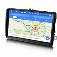 """écran tactile 9"""" Android et Apple Carplay GPS Wifi DAB+ pour Volkswagen Golf 5 et VW Golf 6"""