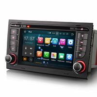 Autoradio GPS Waze Android 8.0 tactile Audi A4