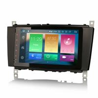 "Ecran tactile 9"" Android 8.0 GPS Mercedes Benz Classe C W203 et CLC"