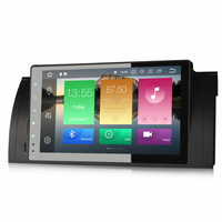 Autoradio Android 8.0 écran tactile 9 pouces Wifi BMW Série 5 E39 & X5 E53