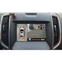 Caméra 360° degrés : Vision 2D HD 1080P - 4 caméras sur un seul écran