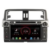 Poste Android 8.1 GPS écran tactile USB Bluetooth Toyota Land Cruiser Prado depuis 2014