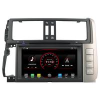 Autoradio Android 8.1 GPS avec Wifi Bluetooth Toyota Land Cruiser Prado 150