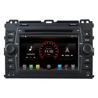 Autoradio Android 8.1 GPS écran tactile Wifi Toyota Land Cruiser J120 de 2002 à 2009