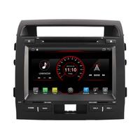 Autoradio Android 8.1 écran tactile GPS DVD Toyota Land Cruiser 200 de 2007 à 2013
