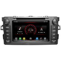 Autoradio GPS Wifi Bluetooth Android 8.1 Toyota Auris de 2007 à 2012