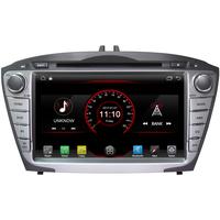 "Autoradio GPS Wifi Bluetooth Android 8.1 Hyundai IX35 de 2010 à 2013 - écran 7"""