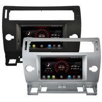 Poste Android 8.1 GPS Waze Wifi écran tactile Citroën C4 de 2004 à 2011