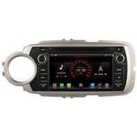 Autoradio Android 8.1 GPS écran tactile Wifi Toyota Yaris de 10/2011 à 07/2014