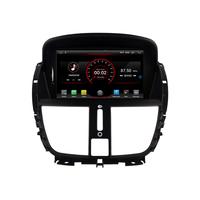 Autoradio Android 8.1 écran tactile GPS DVD Peugeot 207
