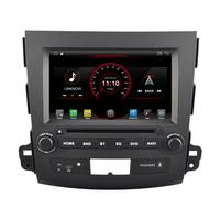 Autoradio GPS Wifi Bluetooth Android 8.1 Citroën C-Crosser Peugeot 4007 et Mitsubishi Outlander